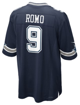 best authentic 36ba0 5f109 NIKE Dallas Cowboys Tony ROMO Jersey - Authentic from Sport Central