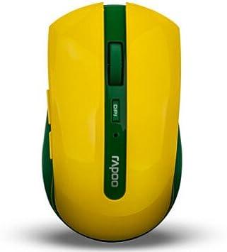 Rapoo 7200P 5 G inalámbrico anti-interferencia ratón óptico con 500/1000 ppp ajustable motor óptico – Brasil: Amazon.es: Electrónica