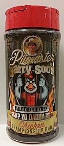 Pitmaster Harry Soo's Slap Yo Daddy BBQ Rubs - ALL NEW (Chicken Championship Rub - Jailbird Chicken, 12 oz)