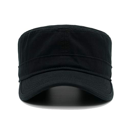 (Krisphily Washed Cotton Army Cap,Military Hat,Trucker)