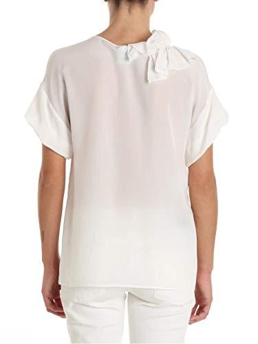 Seda Blanco A021911370002 Mujer T Moschino shirt Boutique FpqAZPwxcA