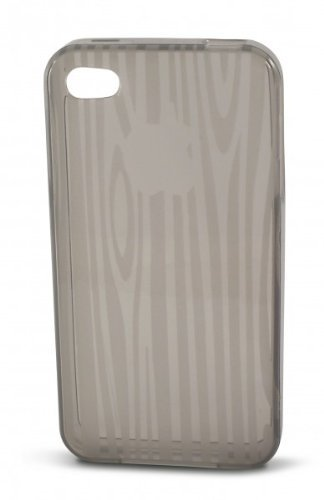 KSIX-Cover in TPU per iPhone 4, colore: grigio fumo