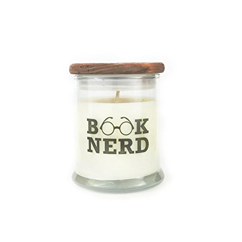 Book Nerd - Old Book Scent - Book Lover Soy Candle - Book Lover Gift
