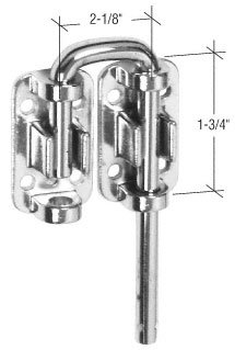 CRL 2-1/8'' Sliding Door Loop Lock
