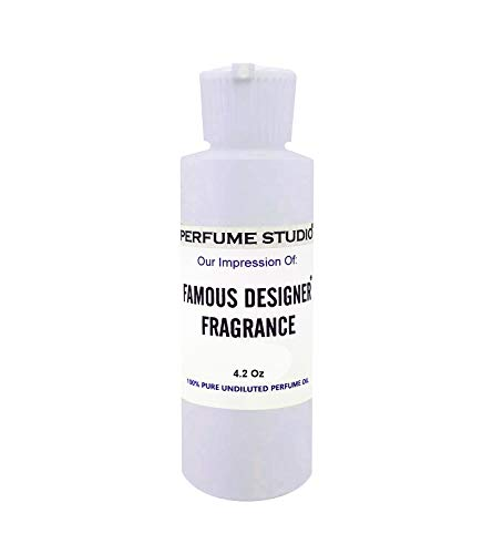 Perfume Studio Fragrance Oil Impression of Tom Ford Black Orchid; Top Quality Pure Perfume Oil Strength Undiluted & Alcohol Free. Comparable Fragrance Scent to: (Black Orchid Type, 4oz)