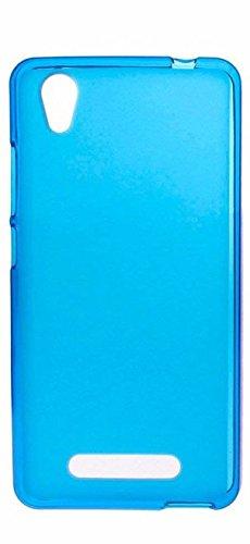 Prevoa ® 丨 ZTE Blade A452 Funda - Transparent Silicona TPU Protictive Carcasa Funda Case para ZTE Blade A452 5,0 pulgadas Smartphone - Azul