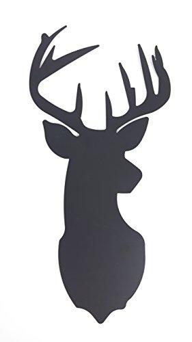 Deer Head Metal Silhouette