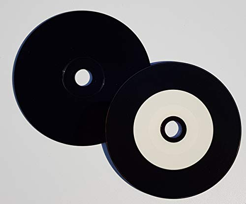 Graphic Express - 50 CD de Vinilo Imprimable, Printable Ink Jet ...