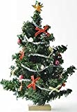Dollhouse Miniature Christmas Tree with Ornaments, Baby & Kids Zone