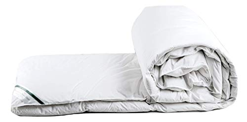 The House of Emily Superking Size Hungarian White Goose Down 4.5 Tog Summer Duvet - Made in Hungary