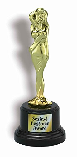 Forum Novelties Sexiest Costume Trophy Award, Gold