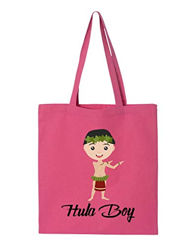 Hawaii Hula Boy Matching Couples Maui Kauai Oahu Hawaiian Islands Tote Handbags Bags for Work School Grocery Travel (GSPI) ()