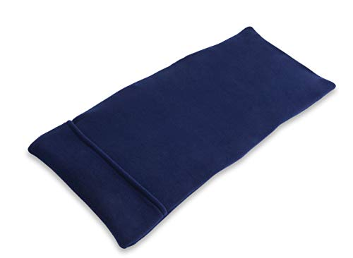 Sunny Bay XL Body Heating Wrap, Personal, Reusable, Hot & Cold Compress, Washable Cover, Heat Therapy Pad for Sore Neck, Back & Shoulder Muscle Pain Relief - Non-Electric, Midnight Blue