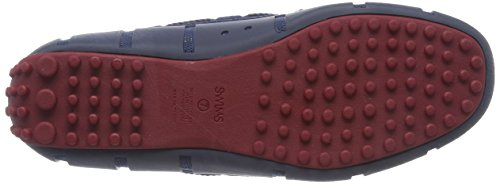 Lace Uomo Navy Lux Blue Loafer Braided Driver Red Deep Swims Mocassini wq6ZH