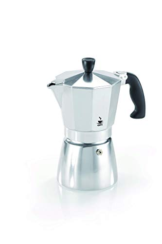 Gefu Espresso Maker Lucino, Accessories for Coffee, 3 Cups, Aluminium/ Plastic, 16070