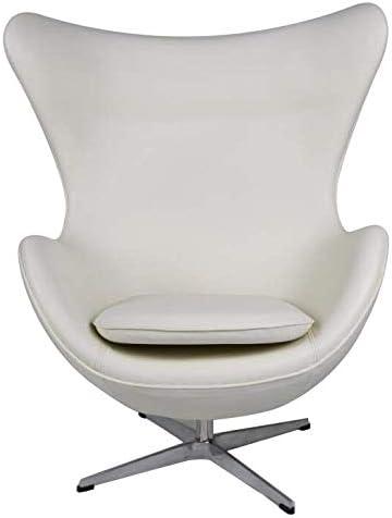 Egg Chair Arne Jacobsen Kopie.Amazon Com Mlf Arne Jacobsen Egg Chair In Top White Cream Aniline