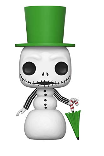 - Funko Pop Disney: Nightmare Before Christmas - Snowman Jack Skellington Collectible Figure, Multicolor