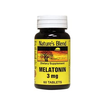 Natures Blend Melatonin 3 mg 60 Tablets