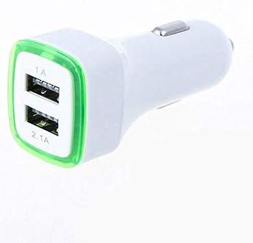 Doble Adaptador LED para Encendedor de Cigarrillos USB para Xiaomi ...