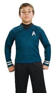 Deluxe Spock Costume - Medium (Deluxe Spock Blue Shirt)