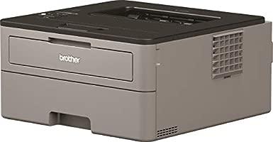 Brother HLL2350DW - Impresora láser Monocromo con WiFi y dúplex Gris + AmazonBasics - Cable USB 2.0 de Tipo A Macho a Tipo B Macho (3 m)