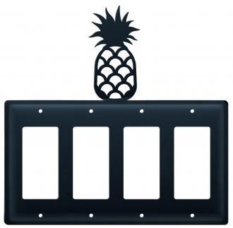 EGGGG-44 Pineapple Quad. GFI Electric (Pineapple Gfi Cover)