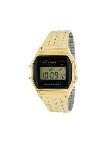 Casio Collection Women's Watch A159WGEA-1EF (Watches For Men Casio Gold)