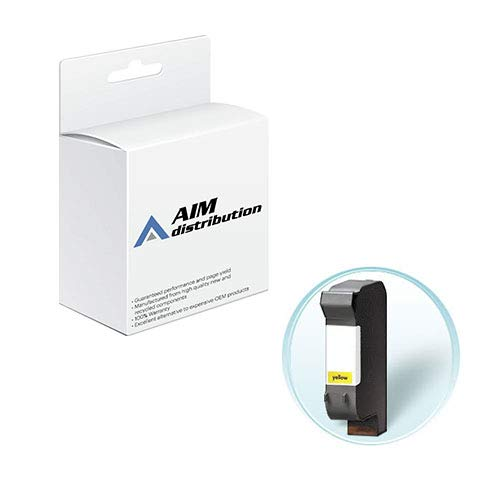 AIM Compatible Replacement for HP NO. 44 Yellow Inkjet (365 Page Yield) (51644Y) - Generic
