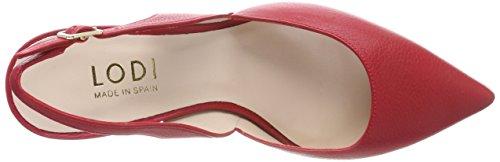 Lodi Red Closed Toe Ginger Tristan Tristan Women's Pino Go Heels aYwTarq