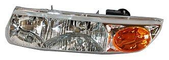 TYC 20-6016-00 Saturn Driver Side Headlight - Replacement Headlight Saturn Sl2