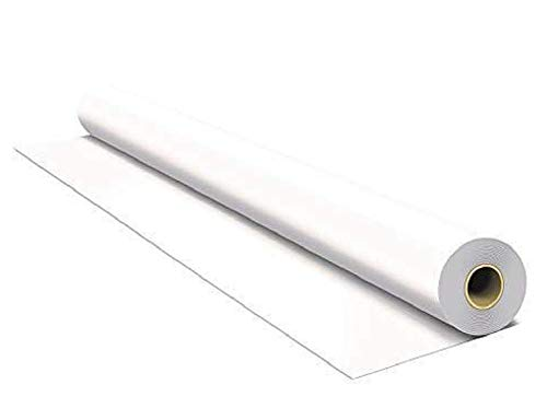 1000 sqft (4x250) Solid White Vapor Barrier Attic Foil White