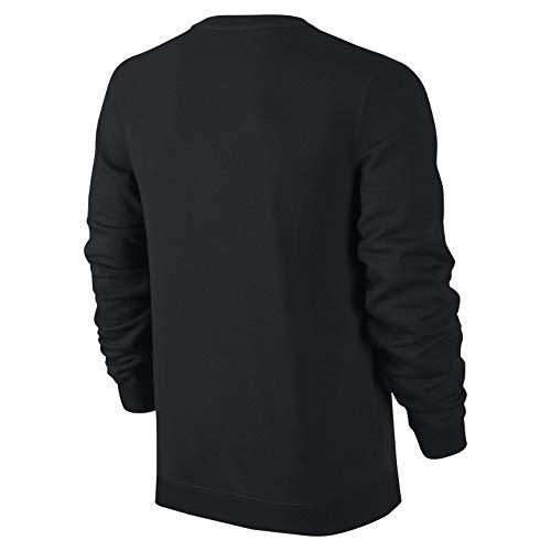 À Sweat Nsw Homme Nike Pour white Manches Crw Black Ft M Club Longues WwYqvq4X5B