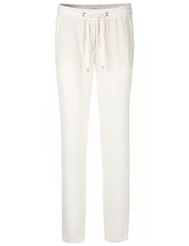110 Collections Cain Para Marc Mujer Pantalones white off Blanco wOq7Ax