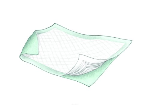 Wings Fluff & Polymer Underpads [MAXICARE underpad 36X36 GRN - Underpad Maxicare