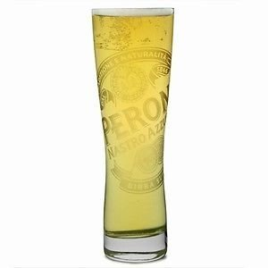 Peroni Italian Beer Glasses 0.3L - Set of 4