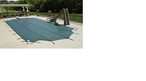18 x 36 Rectangle Safety Pool Cover with Center End Step (4x8)