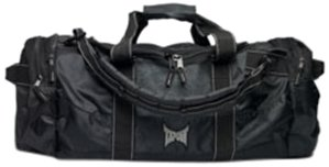 TapouT Equipment Utility Bag, Black with Gray Trim by TapouT
