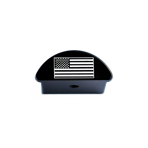 Bastion Aluminum Grip Frame Slug Plug for Glock 43 G43 9mm - USA Flag by BASTION