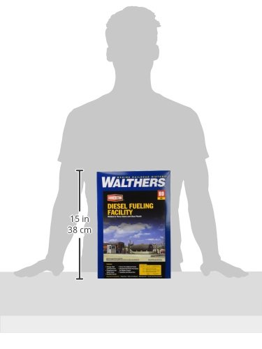 Walthers Cornerstone Series Kit HO Scale Diesel Fueling Facility