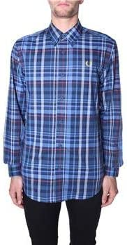 Fred Perry Check Shirt Midnight Blue-L: Amazon.es: Deportes y aire libre