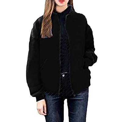 Women's Coat KpopBaby Winter Plus Zipper Large Size Loose Sweater Boss Cardigan Outwear