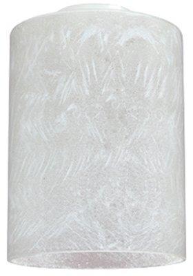 Westinghouse 8570100 Handblown Glass Cylinder Shade, Ice