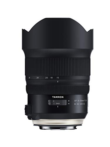 Tamron SP 15-30mm F/2.8 Di VC USD G2 for Canon Digital SLR Camera (Tamron 6 Year Limited USA Warranty) - Model New Cipa