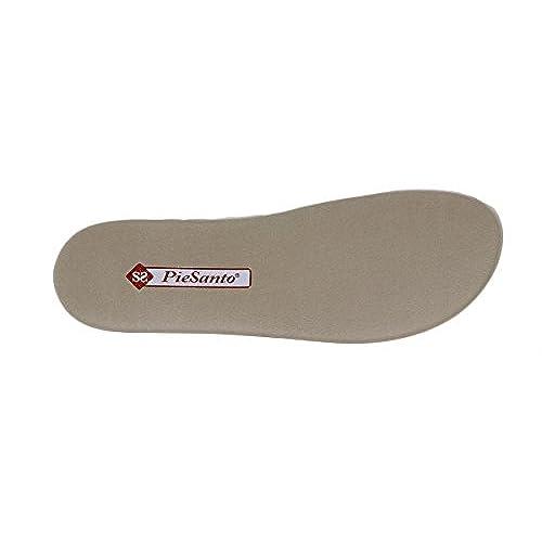 70% OFF PieSanto Sandalia Plantilla Extraíble Charol Perla 180868 Zapato  Confort c98ff20c7c47
