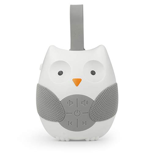 Owl White Noise Machine - Portable Baby Sleep Aid Helper Soothers Shusher - Nature Music Soothing Sound - Sleeping Relaxation Therapy - Ideal Adult Kids Toddler Infant Gift