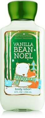 Bath & Body Works, Signature Collection Body Lotion, Vanilla Bean Noel, 8 Ounce