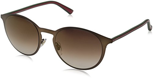 Gucci Men's GG 2263/S Brown Green Red/Brownish Flash Bronze Sunglasses