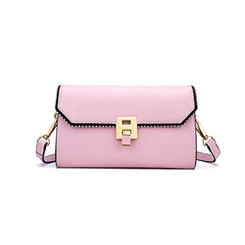 Donna Borsa Coreano Compatta Casual Da Clutch Yxpnu Semplice Rivetti Pink Moda 6HdxR6Ew