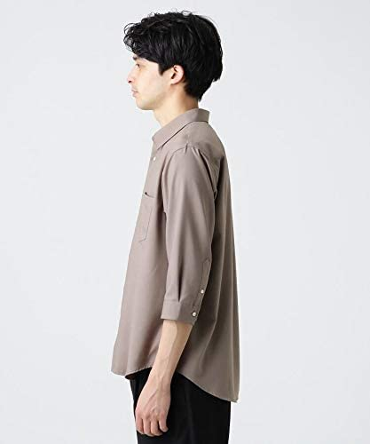 [ ティーケー タケオキクチ ] カジュアルシャツ TRレギュラーカラーシャツ(7分袖) 17088301 メンズ