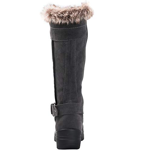 1827grey Women's Rylee Boots Snow Fashion Globalwin PFq6c